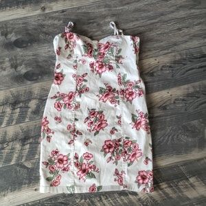 H&M Divided Floral Dress